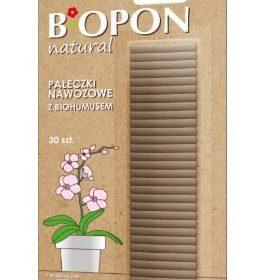 Mēslošanas stienīši ar biohumusu Biopon 30gab.