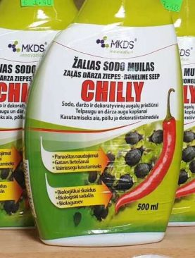 Čilli zaļās ziepes 500ml